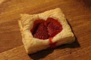 Das blutende Erdbeerherz
