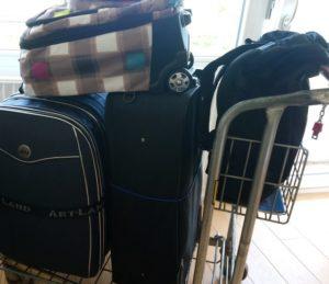 Reha Koffer symbolisch