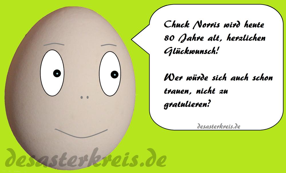 Chuck Norris 80 Jahre