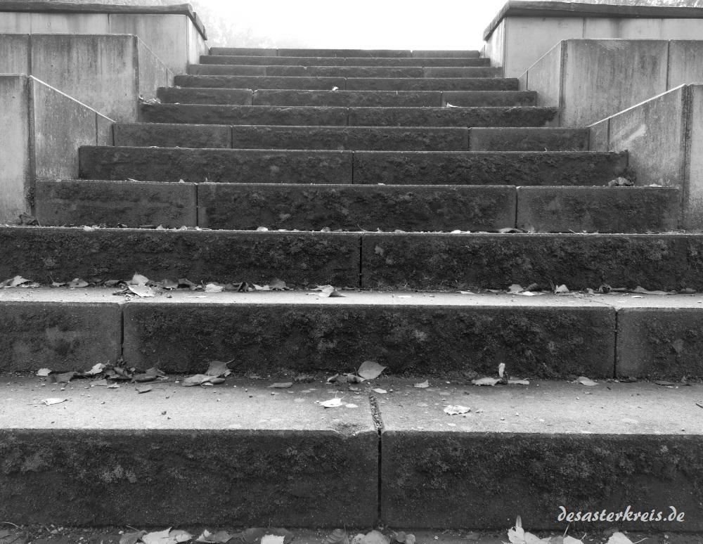 Die Treppe zum Ungewissen