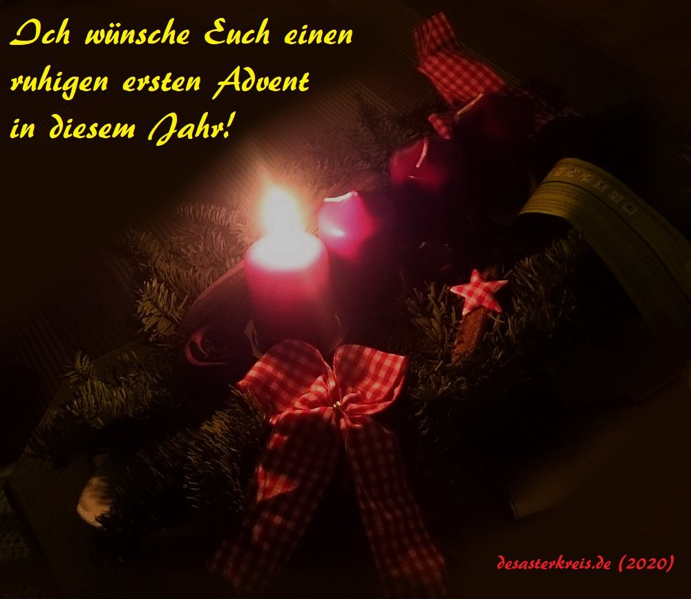 Der 1. Advent 2020