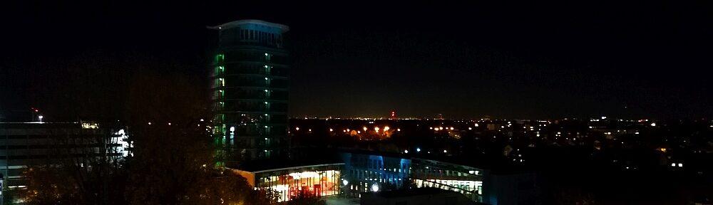 Der Nachthimmel über ...