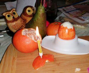 in Jahr Desasterkreis, das romatische Abendessen