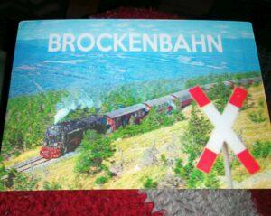 Karte Brockenbahn