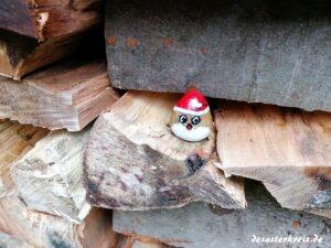 Der Weihnachtsmann auf dem Weg nach Hause #owdstein