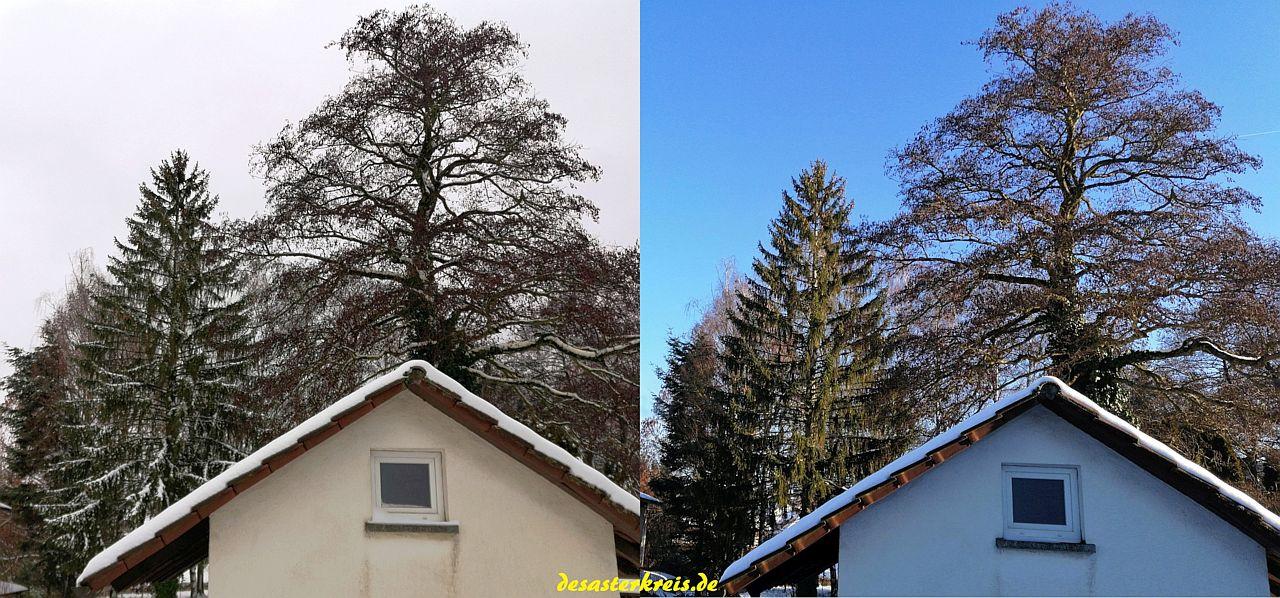 Winter mit und ohne Sonne!