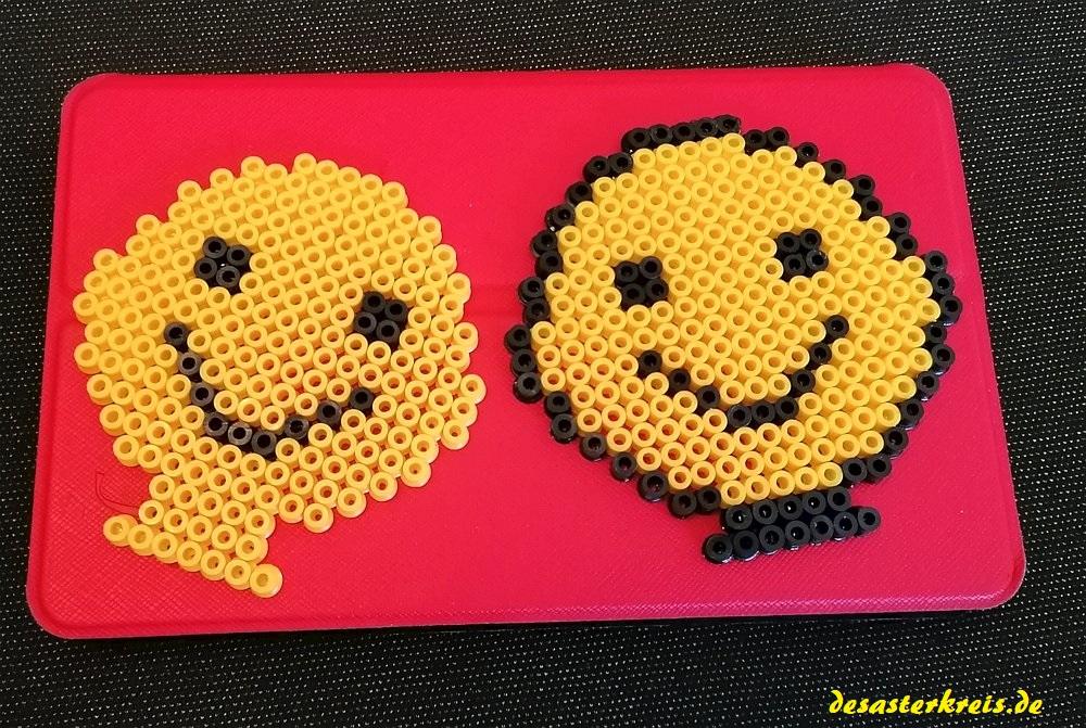 Zuwachs bei der Bügelperlen-Emoji-Familie ;-)
