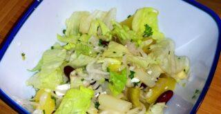 Der Salat aus Resten